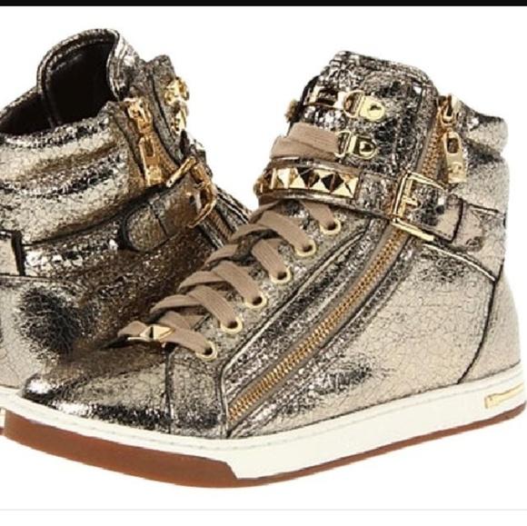 Michael Kors Metallic Glam Studded